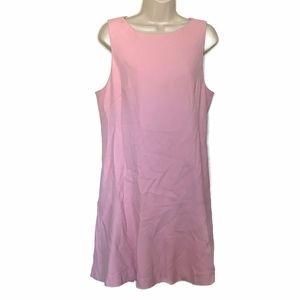 Reiss Size 12 Pink Drop Waist Dress NWT UK Size 16